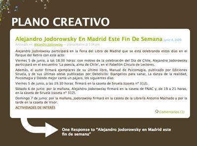 PLANO CREATIVO 1